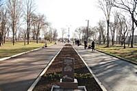 Районний парк біля Центру художньо-естетичної творчості школярів та молоді